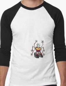 Handy Robot Men's Baseball ¾ T-Shirt
