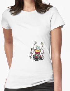 Handy Robot Womens Fitted T-Shirt