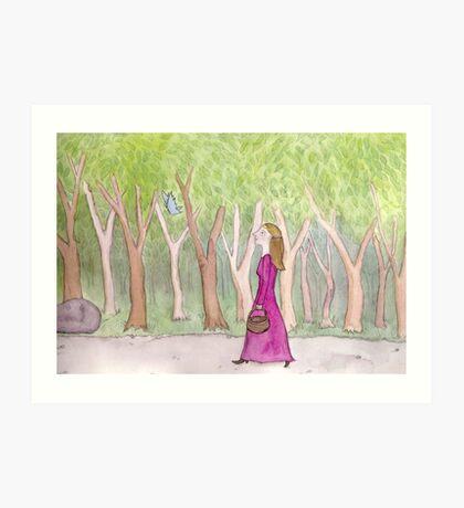 The Eldest Princess Art Print