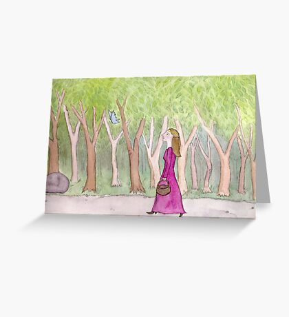 The Eldest Princess Greeting Card
