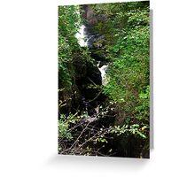 Pecca Falls #2 Greeting Card