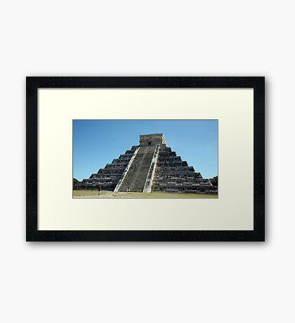 Mayan Temple Framed Print
