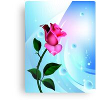 Sea Rose Canvas Print