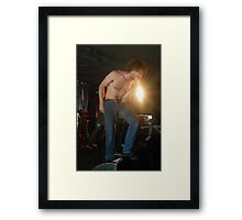 Fierce! Framed Print