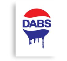 Dabs Soda Canvas Print