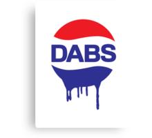 Dabs Soda Canvas Print