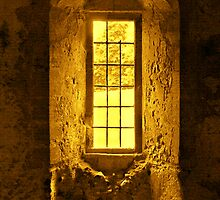 WINDOW -  CASTLE ACRE PRIORY RUINS by ANNETTE HAGGER