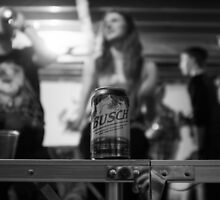 Busch Beer by Laurie Brand