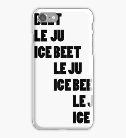 Beetlejuice - Beetlejuice Beetlejuice Beetlejuice iPhone Case/Skin