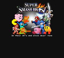 Nintendo Super Smash Bros. NES vs. Wii U/3DS 'Never Old'  Unisex T-Shirt
