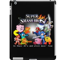 Nintendo Super Smash Bros. NES vs. Wii U/3DS 'Never Old'  iPad Case/Skin