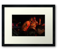 Gentle Ben and Geoffro Framed Print