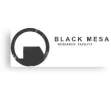 Black Mesa Research Facility Canvas Print