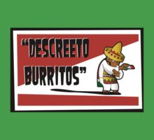 Clerks: Animated Series - Descreeto Burrito (HD) v2 Kids Clothes