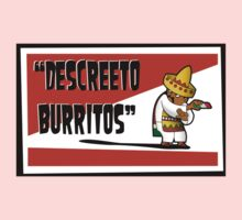 Clerks: Animated Series - Descreeto Burrito (HD) v2 Baby Tee