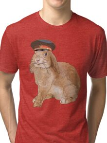 Communist Bunny Tri-blend T-Shirt