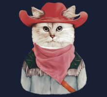 Rodeo Cat Kids Tee