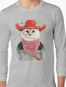 Rodeo Cat Long Sleeve T-Shirt