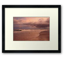 Sea Dreaming at Kingscliff  Framed Print