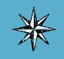 Compass Rose Vintage two colors by theshirtshops