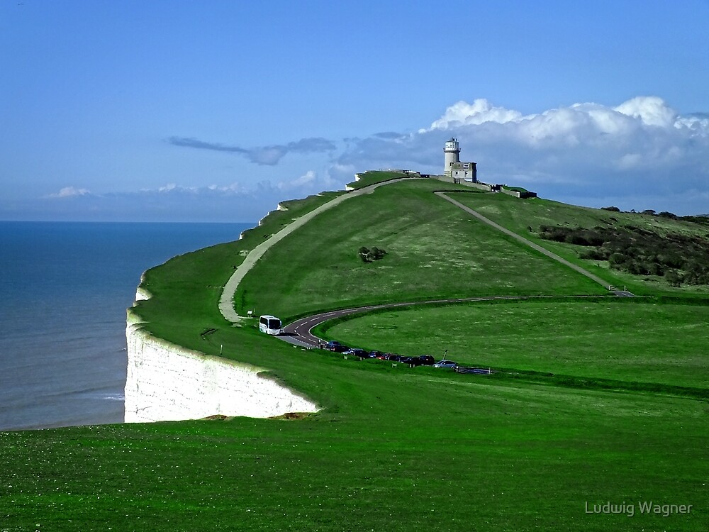 Belle Tout Lighthouse by Ludwig Wagner