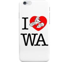 I PNW:GB WA (white) v2 iPhone Case/Skin