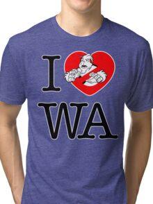 I PNW:GB WA (white) v2 Tri-blend T-Shirt