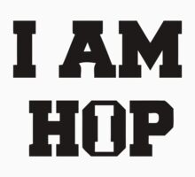 I am HIP HOP - White version Kids Clothes