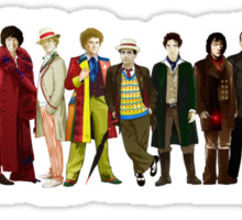 Doctor Who - The 13 Doctors (alternate lineup) Sticker