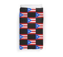 Puerto Rico Flag Baseball World Cup - Nuyorican Sticker Duvet Cover