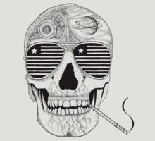 GONZO SKULL (INK ONLY) T-Shirt