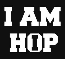 I am HIP HOP - Black Version by 2monthsoff