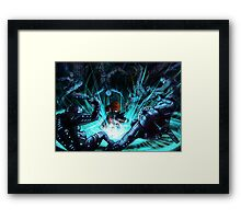 Mass Effect - Biotic Blitz Framed Print