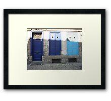 rue de Gand. Lille. France Framed Print