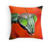 Mantis (6) ! Throw Pillow