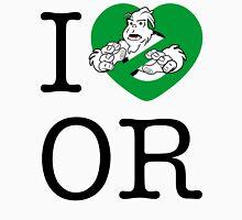 I PNW:GB OR (white) Green Heart v2 Unisex T-Shirt