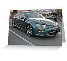 Ford Falcon GT F6 Greeting Card
