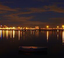 An Evening in Boat by Neeraj Nema