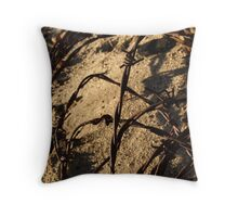 Barbed & Twisted Throw Pillow
