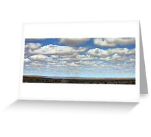 A Cloudless Sky - NOT! Greeting Card