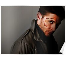 Cracked Dean Poster