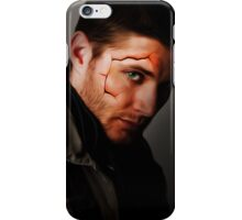Cracked Dean iPhone Case/Skin