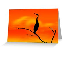 Sunset Sonata Greeting Card