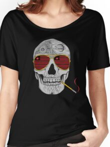 GONZO SKULL Women's Relaxed Fit T-Shirt