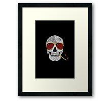 GONZO SKULL Framed Print