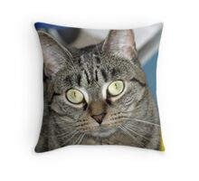 Wet Nose Throw Pillow