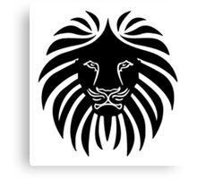 Like a Lion  Canvas Print
