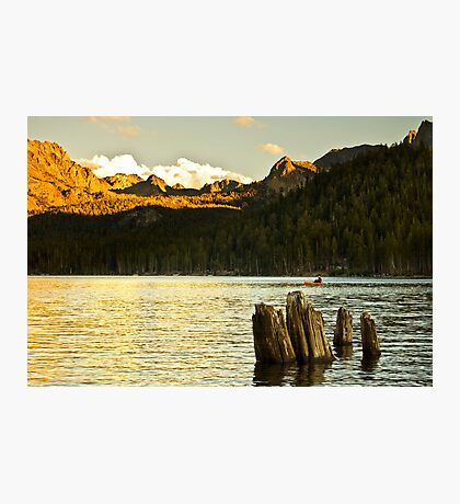 Alpenglow at Lake Mary Photographic Print