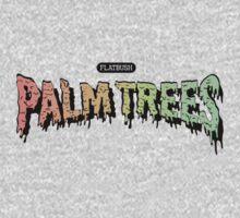Flatbush Palm Trees - Logo Mashup! T-Shirt