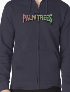 Palm Trees - Mashup! Zipped Hoodie